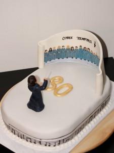 Parádní narozeninový dort k Lukášovým třicetinám